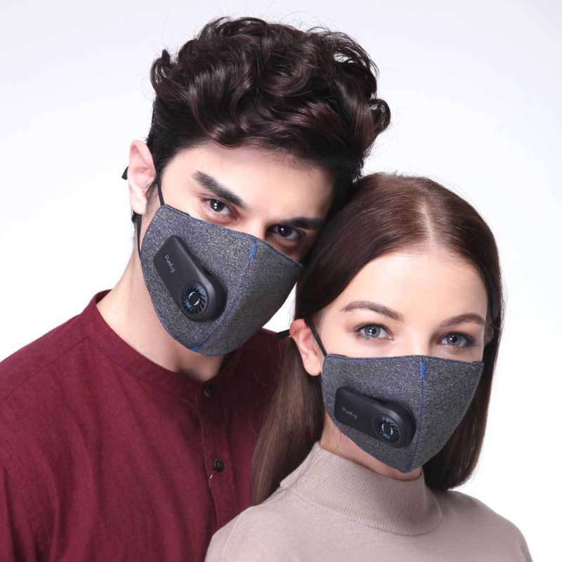 Xiaomi Mijia Pure air mask anti-pollution PM2.5 pure mask can be charged to filter 3d structure excellent purification effect image