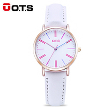 OTS Analog Quartz Women's Watches Brand Luxury Fashion Ladies Watch Candy Student Waterproof Kids Children Watch for Girls
