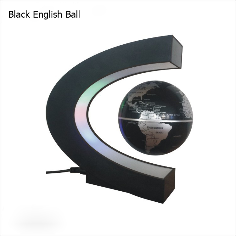 Originality Globe Display Stand Shelf Magnetic Levitation Floating Creative Home Decoration Gifts & Crafts Desktop Decor Gifts creative home zakka grocery shelf pastoral style trapezoidal miscellaneous succulents display