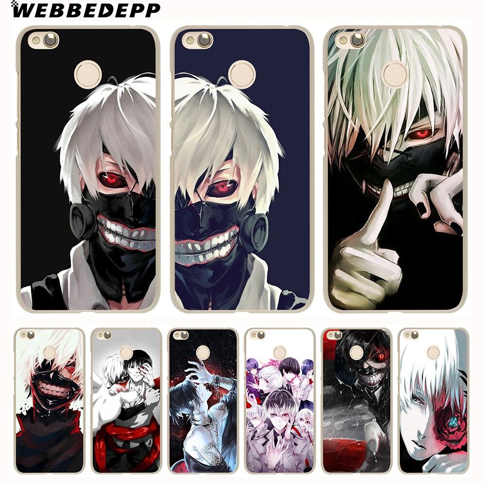 WEBBEDEPP Anime Tokyo Ghouls Phone Case for Xiaomi Redmi 4X 4A 5A 5 Plus 6 Pro 6A 3S S2 Note 5 Pro 4X Cover