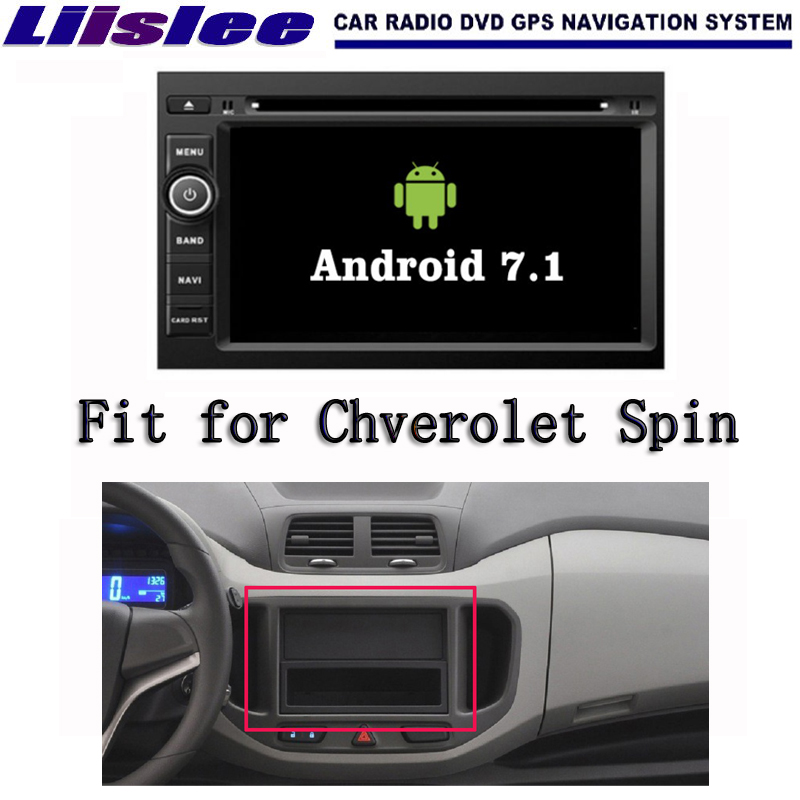 Android 7 1 2G RAM For Chverolet Spin 2012 2016 Car Radio Audio Video Multimedia DVD