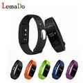 Lemado ID107 Bluetooth 4.0 Inteligente de banda y Monitor de Ritmo Cardíaco para ios android actividad gimnasio muñequera pk mi banda 2