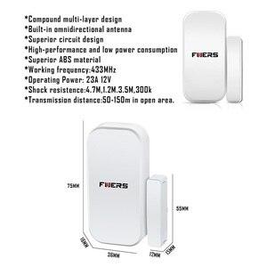 Image 4 - 2019 Fuers 3 יח\חבילה אלחוטי דלת מגנטית חיישן גלאי עבור WG11 WIFI GSM PSTN אבטחת בית פורץ קול מעורר מערכת