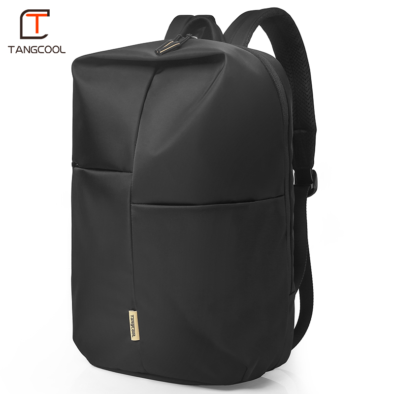 Tangcool Fashion Laptop Backpack Men Casual Korean School Backpack Trend Student Personality Travel Backpack