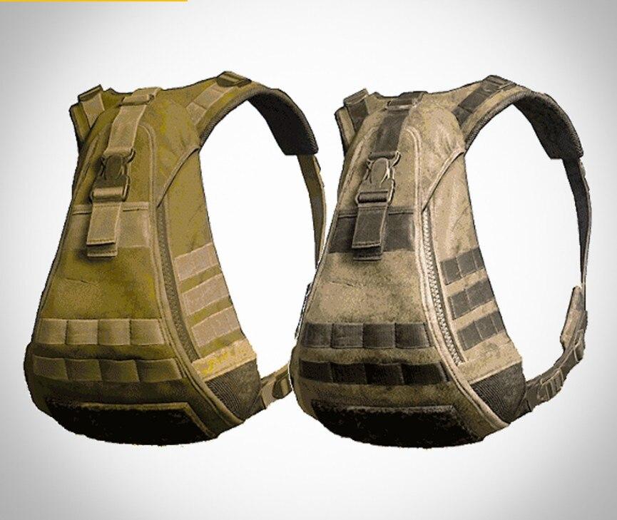 Pubg PLAYERUNKNOWN'S BATTLEGROUNDS Game Camouflage Backpack Rucksack Knapsack Cosplay Use Soldiers CS A Gun Battle Usa Fashion