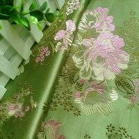75x100 см Новая мода зеленый Мудан ткани Африканский атласной ткани для пэчворка, торжественное платье, обивка дивана Скрапбукинг