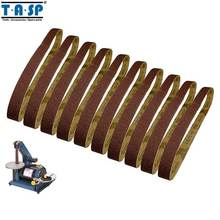 TASP 10pcs 25x762mm Abrasive Sanding Belt 1x30 Sander Sandpaper Woodworking Tools Accessories