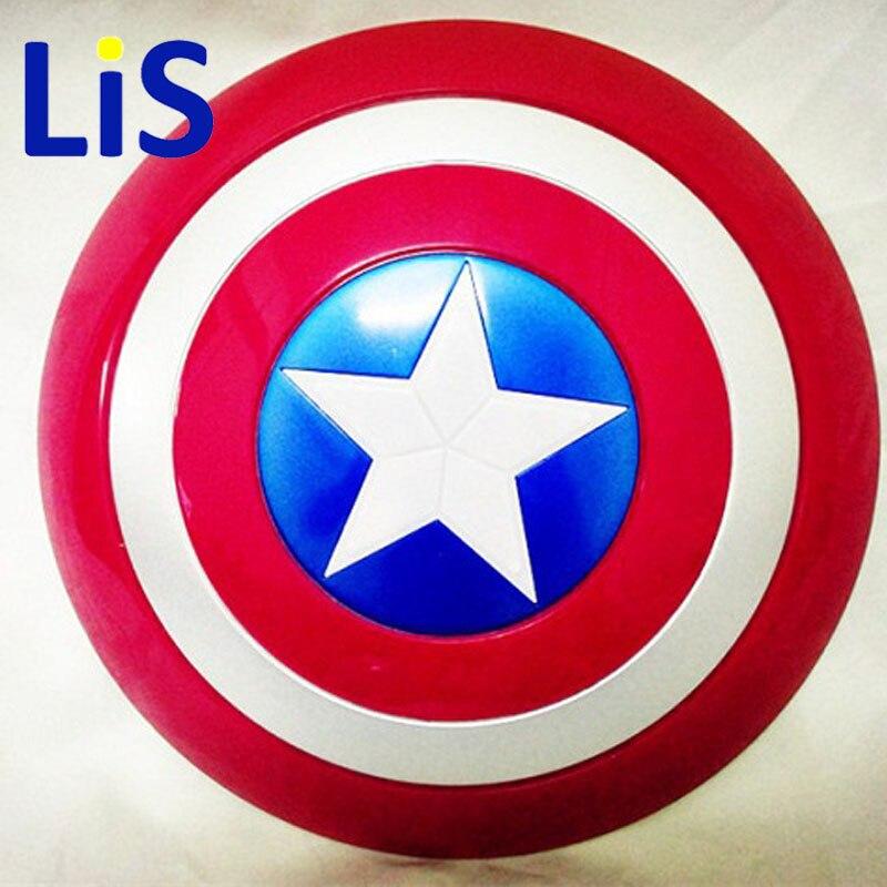 Lis New Super Hero Avenger Marvel Captain America Bouclier Enfants Jouets Cadeau pour Cosplay Livraison Gratuite SA318