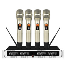 Professional UHF Wireless Microphone Handheld Microphone Stage Karaoke Home Microphone