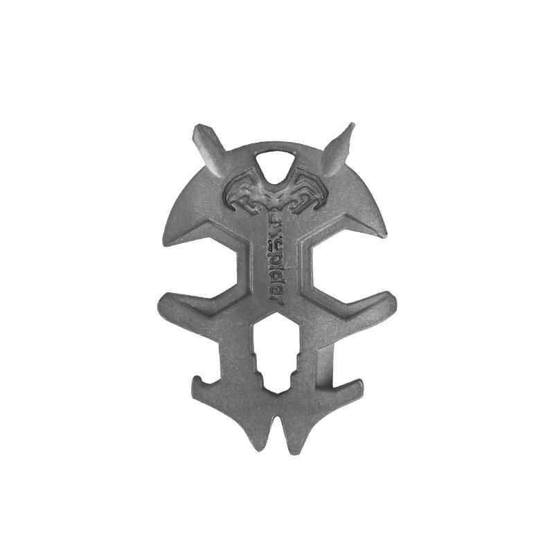 Outdoor Portable Small Wrench Multi-function Tool Monster Titanium Alloy Screwdriver Secant Knife Opener EDC Equipment edc 5 in 1 multi function bottle opener w keychain led lamp screwdriver black