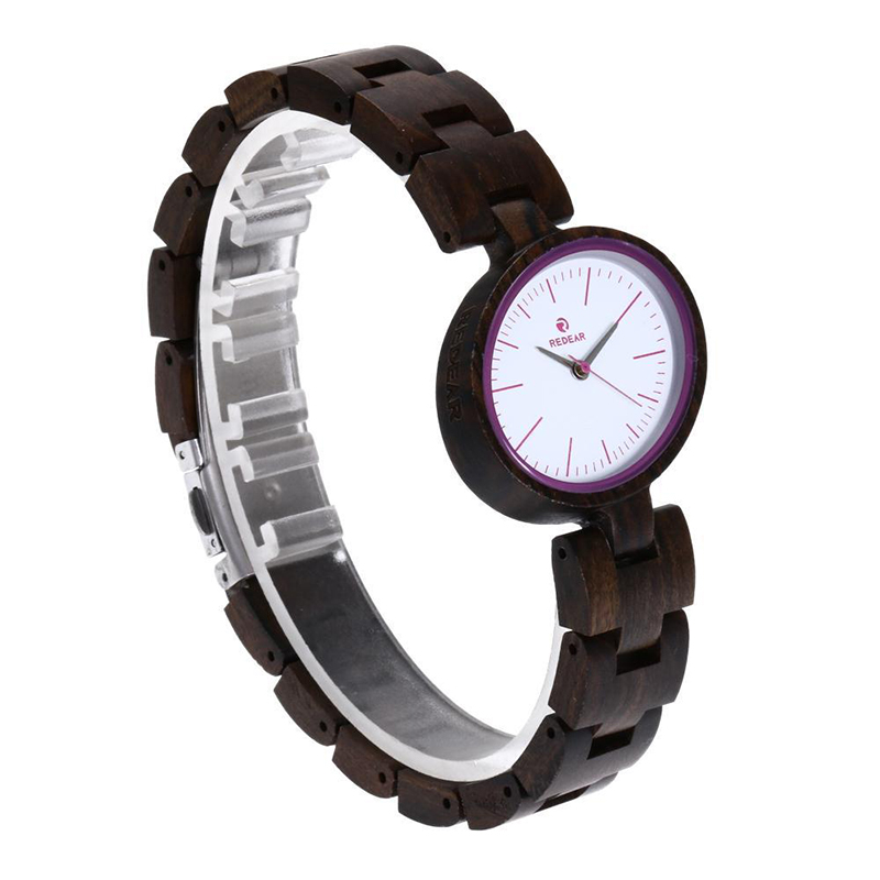 reloj mujer REDEAR Unique Fashion Wood Watch Women Watches Top Brand Wooden Women's Watches Oval Ladies Watch Clock montre femme redear top brand wood watch men women wooden watches japan miyota fashion watch leather clock relogio feminino relogio masculino