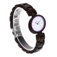 reloj mujer REDEAR Unique Fashion Wood Watch Women Watches Top Brand Wooden Women's Watches Oval Ladies Watch Clock montre femme