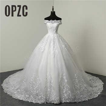 30% Discount Luxury Lace Embroidery 2018 Wedding Dresses 100cm Long Train Sweetheart Elegant Plus size Vestido De Noiva Bride - DISCOUNT ITEM  30% OFF Weddings & Events