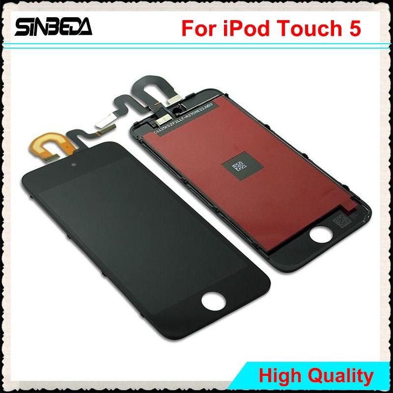 Sinbeda Meilleur Prix D'affichage Pour iPod Touch 5 5ème LCD Écran tactile Digitizer Assemblée Pour iPod Touch 6 6e 4.0 LCD de Remplacement