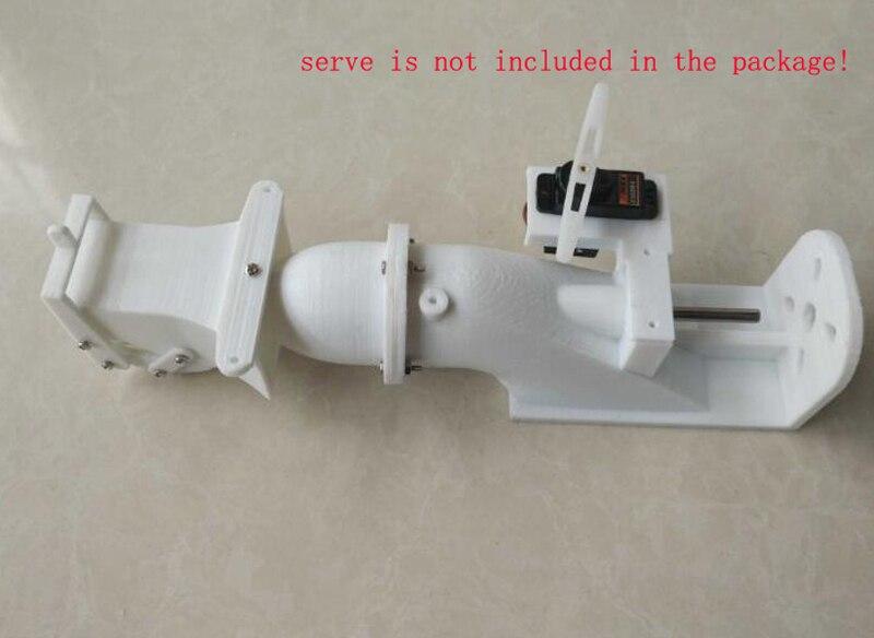 28mm Spray Wasser Strahlruder für RC Fischköder Boote Motorboot Jet pumpe DIY Modell Locken Boot Ersatzteile 4mm Welle Strahlruder Kits
