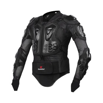 HEROBIKER Motorcycle Jacket Men Full Body Motorcycle Armor Motocross Racing Protective Gear Motorcycle Protection Size S-5XL #