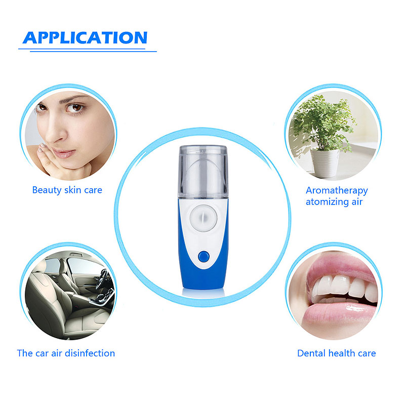 MY -121 Portable Rechargeable Nebulizer Home Health Care Automizer Mini Nebulizer Children Care Handheld Inhale Nebulizer