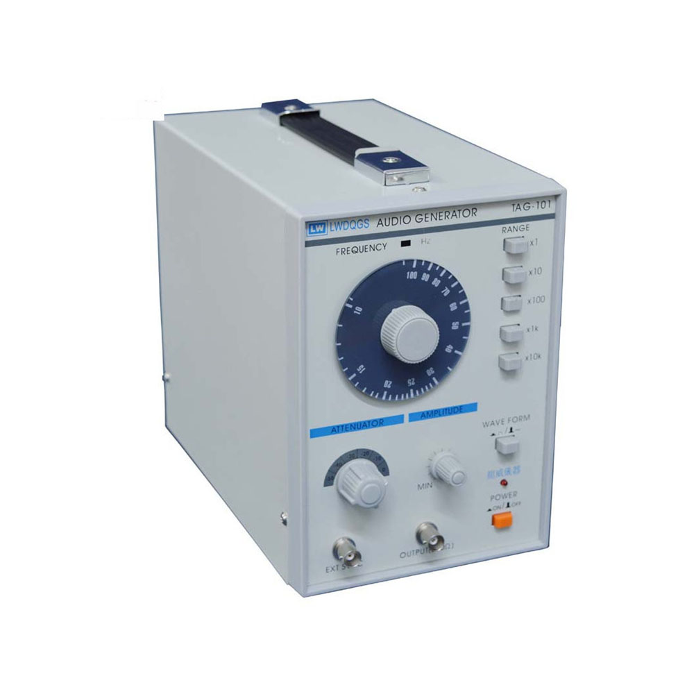 TAG-101 Audio Generator Function 10 to 1Mhz Precision Signal Low Frequency Signal Generator 10hz 1mhz low frequency function signal audio generator producer rek rag101