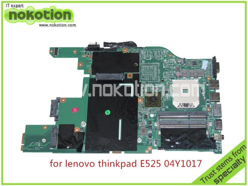 FRU 04Y1017 04W0609 For lenovo thinkpad E525 laptop font b motherboard b font AMD DDR3