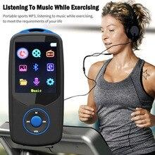 Mini Original RUIZU X06 Bluetooth MP3 Player 8GB Sport MP3 Music Player Screen 100 Hours High Quality Lossless Recorder FM Ebook