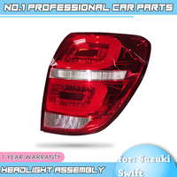 Binfu For Chevrolet Captiva 2009 2016 taillights LED Tail Lamp rear trunk lamp cover drl+signal+brake+reverse Car Styling