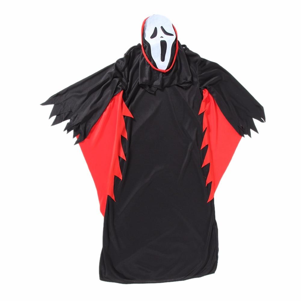 girls black robe dress halloween cosplay dark containment ghost