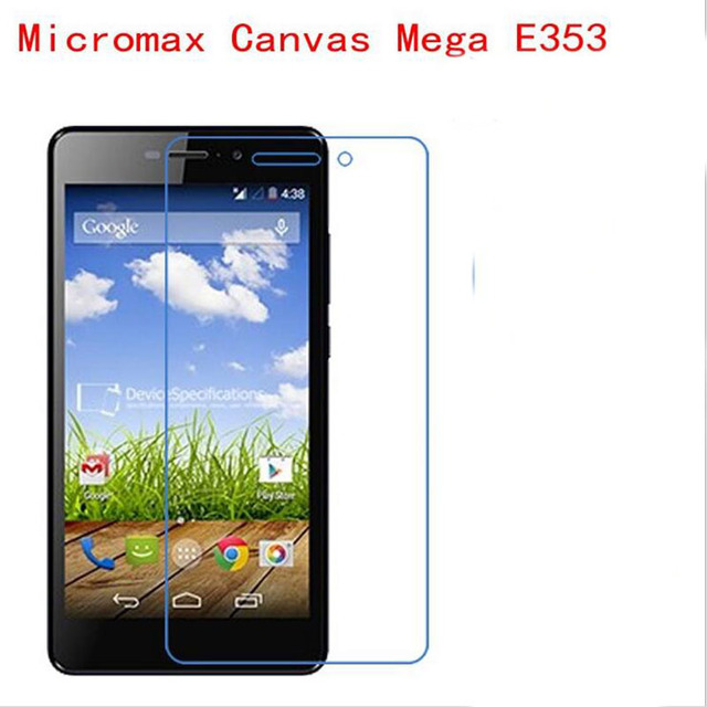 3 PCS HD phone film PE touch preserving eyesight for Micromax Canvas Mega E353 screen protector