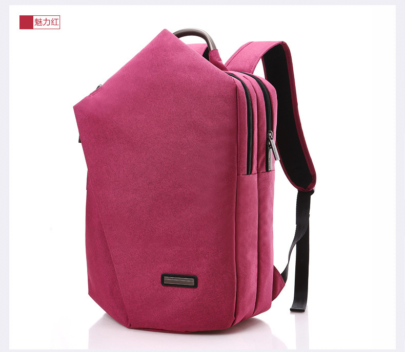 Waterproof Large Capacity Laptop Tablet Unisex Backpack for 15.6 inch Dell XPS 15 9560 Notebook Bag for teenager girls boys image