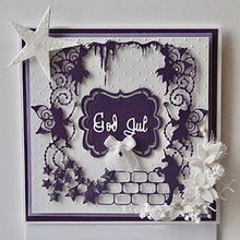 METAL CUTTING DIES frame background star fairy Scrapbook card PAPER CRAFT made embossing stencils punch