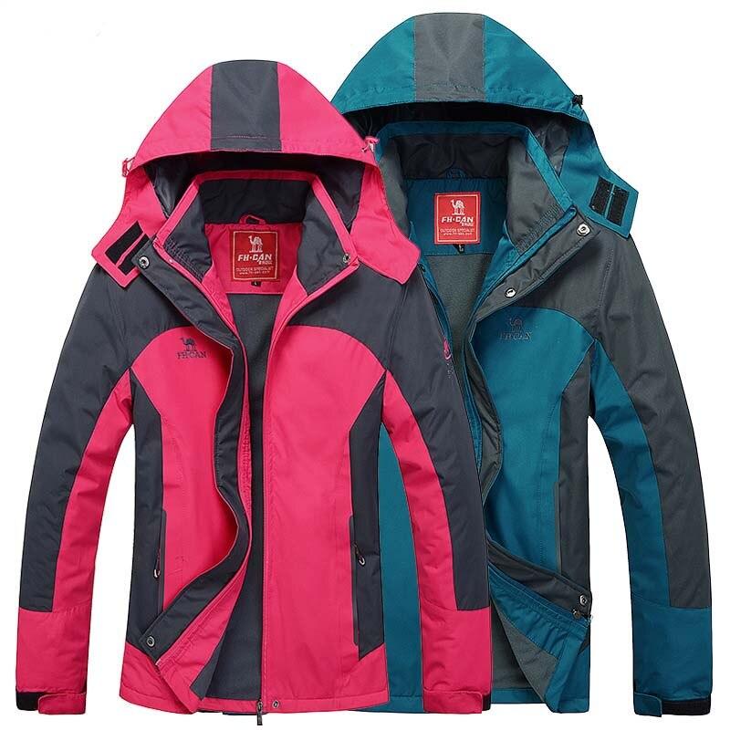 2016 outdoor couples Waterproof windproof Outdoor font b Camping b font sport men coat campera impermeable