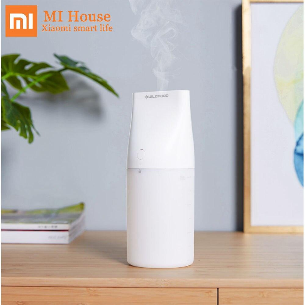 Humidificador de escritorio Xiaomi Guildford Uildford con luz nocturna 320 ml sincronización evaporativa silencioso Emisión de Vapor de agua para el hogar