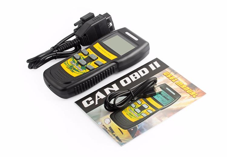Escanear Automoviles Automotive Scanner Memoscan U581 Live Data OBD 2 II  Can Bus Fault Code Reader Diagnostic Tool OBD2 OBDII-in Code Readers & Scan