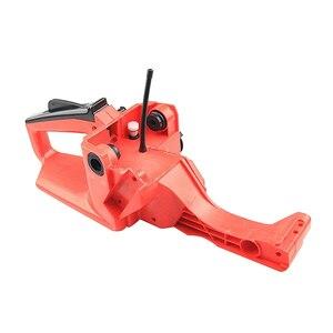 Image 4 - Hinten Griff Gas Kraftstoff Tank Gehäuse Montage Kettensäge Teile und Zubehör