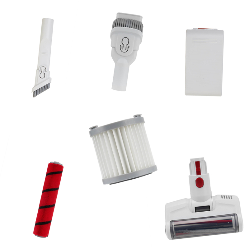 Battery Pack Cleaning Main Roll Brush HEPA Filter For Xiaomi JIMMY JV51 Handheld Wireless Vacuum Cleaner Spare Parts Accessories