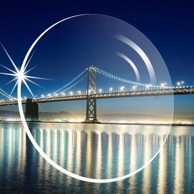 Free Form 1.61 Index Interior Progressive Addition Lenses PAL Eyes Bifocal Multifocal Optical Progressive Lenses