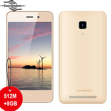 Original 4 Pulgadas Leagoo Z1 Smartphone 8 GB ROM Android 5.1 3G MT6580M WCDMA Quad Core Mobile Phone 3MP CÁMARA IPS Pantalla Dual SIM