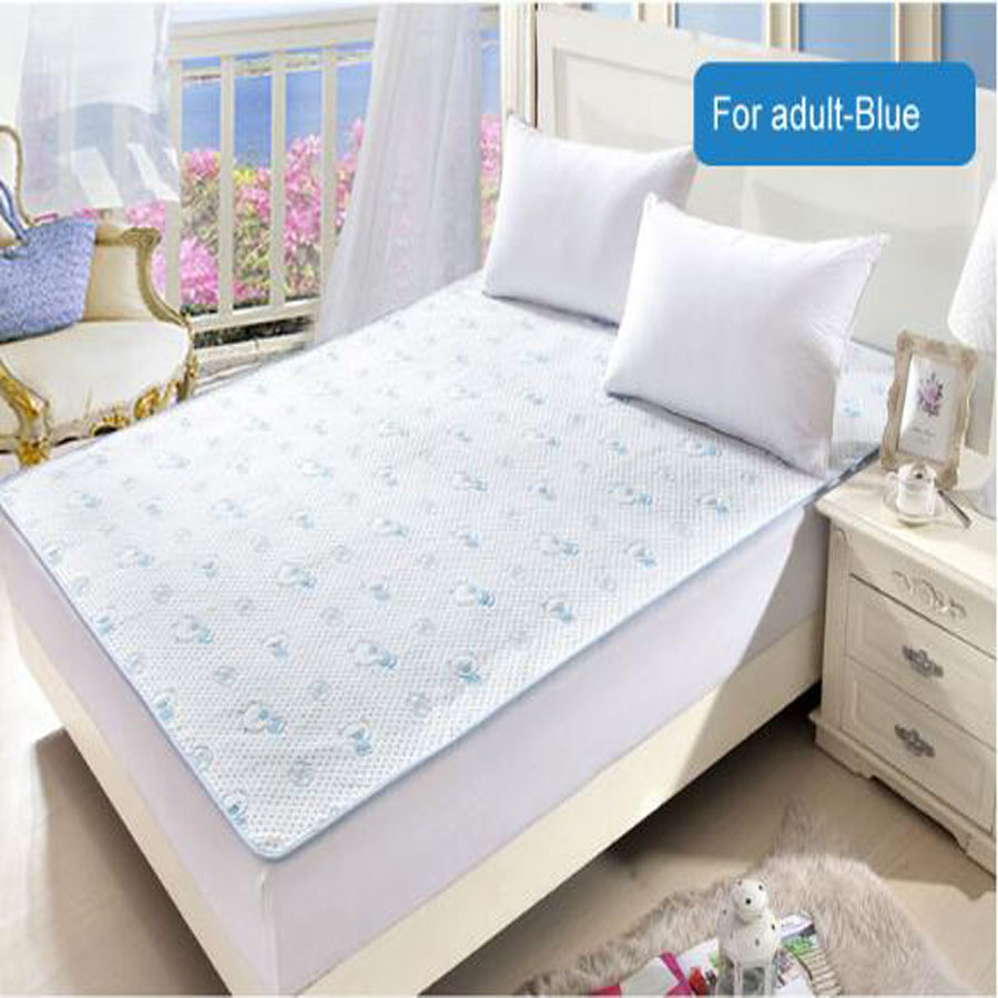 Twin Bed Reusable And Waterproof Sheet Protector Breathable Adult  Incontinence Bed Pad Mattress Protector Free Shipping In Mattress Covers U0026  Grippers From ...