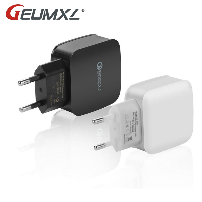 GEUMXL 5V 3A Smart Travel Quick Charge 3.0 Cargador doble USB - Accesorios y repuestos para celulares - foto 2