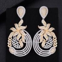 missvikki Transparent Rhinestone Earrings For Women Bijoux Brincos Women's Christmas Gift Bridal Wedding Engagement Jewelry