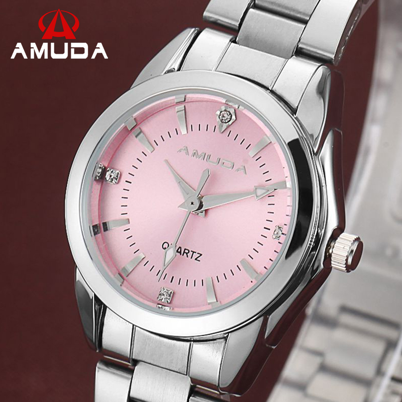 2016 Fashion Women Pink Dress font b Watches b font Luxury Women s Casual font b