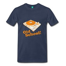 """Old School!"" turntable t-shirt"