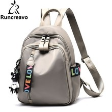 2018 Rucksack Women Backpack Nylon Women Bagpack Sac A Dos Femme Travel Laptop Backpack bag pack School Bags For Teenage Girls