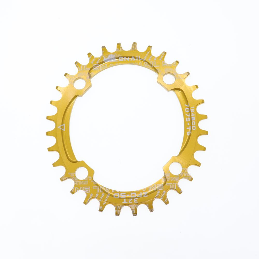 SNAIL Oval Chainring 104 BCD 32T 34T 36T Chainwheel Narrow and Wide MTB Road Bicycle Tooth Plate 104bcd in Bicycle Crank Chainwheel from Sports Entertainment