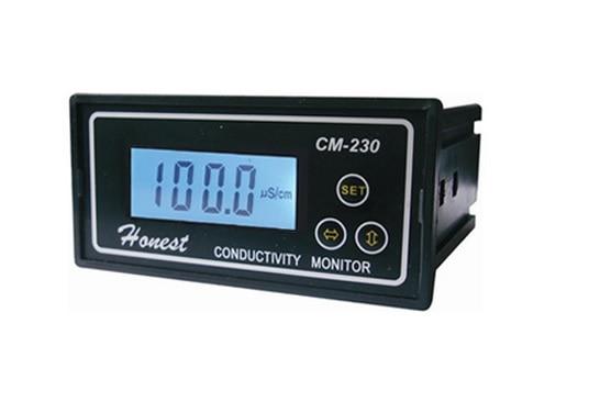 Industrial Online Conductivity Monitor Tester METER Analyzer auto ranging auto zero ATC CM 230 Free Shipping