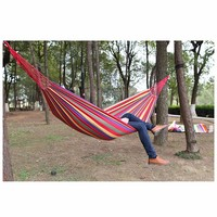 Handy Hammock Single Person Portable Parachute Fabric Mosquito Hammock for Indoor Outdoor Camping Tent Accessories