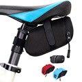 1 piezas bolsa al aire libre de la bicicleta del bolsas a prueba de ciclismo asiento sillín de la bicicleta bolsa 600D Nylon tija de sillín bolsa