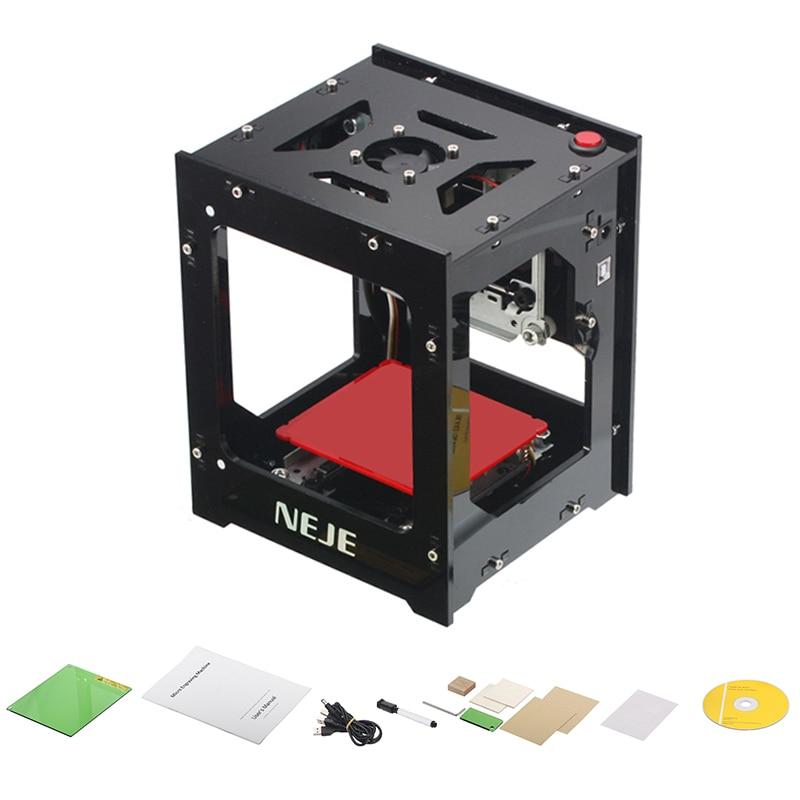 NEJE 3D 1000mW Laser Engraver Machine cnc Crouter USB Laser Cutter Automatic DIY Print Laser Engraver Printer Engraving Machine