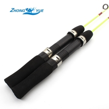 Lowest profit 2pcs Lightweight Ice Fishing Pole 60cm 55g Ice Fishing Rod Winter Fishing Casting Rod Fishing Tackle Free shipping