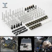 CNC Universal Motorcycle Accessories Fairing/windshield Bolts Screw set For Yamaha xjr1300 FJR 1300 supertenere /xt1200ze yzf r3