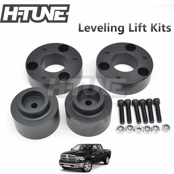 "H-TUNE 4x4 Accessories Front 2.5""and Rear 2"" Coil Leveling Lift Kits For Ram 1500 4WD 2009-2018"